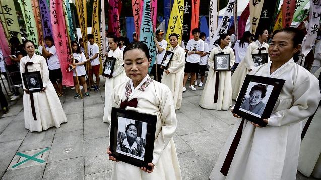 Koreaanse troostmeisjes