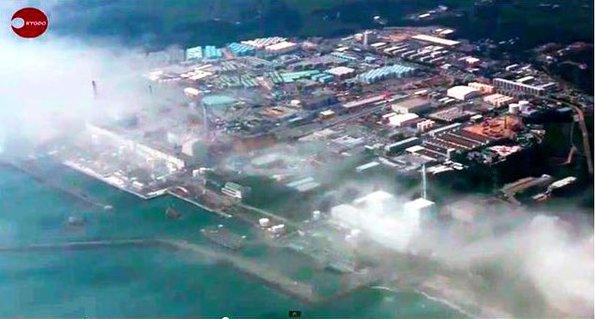 福島第一原子力発電所周辺に発生した不思議な霧