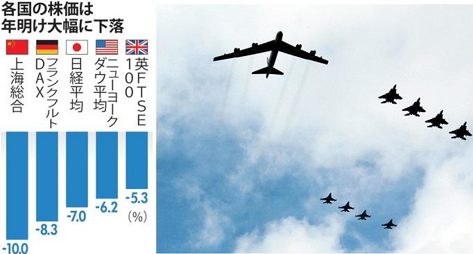 戦略爆撃機B52-1-