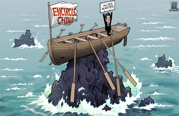 「中国包囲網」「味方募集」