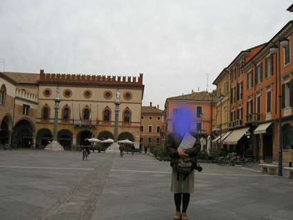 ラヴェンナの広場
