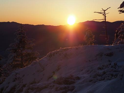 金峰山からの朝日