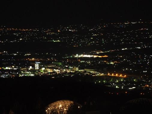 フルーツ公園からの夜景