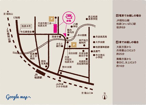 丹波ハピネス地図