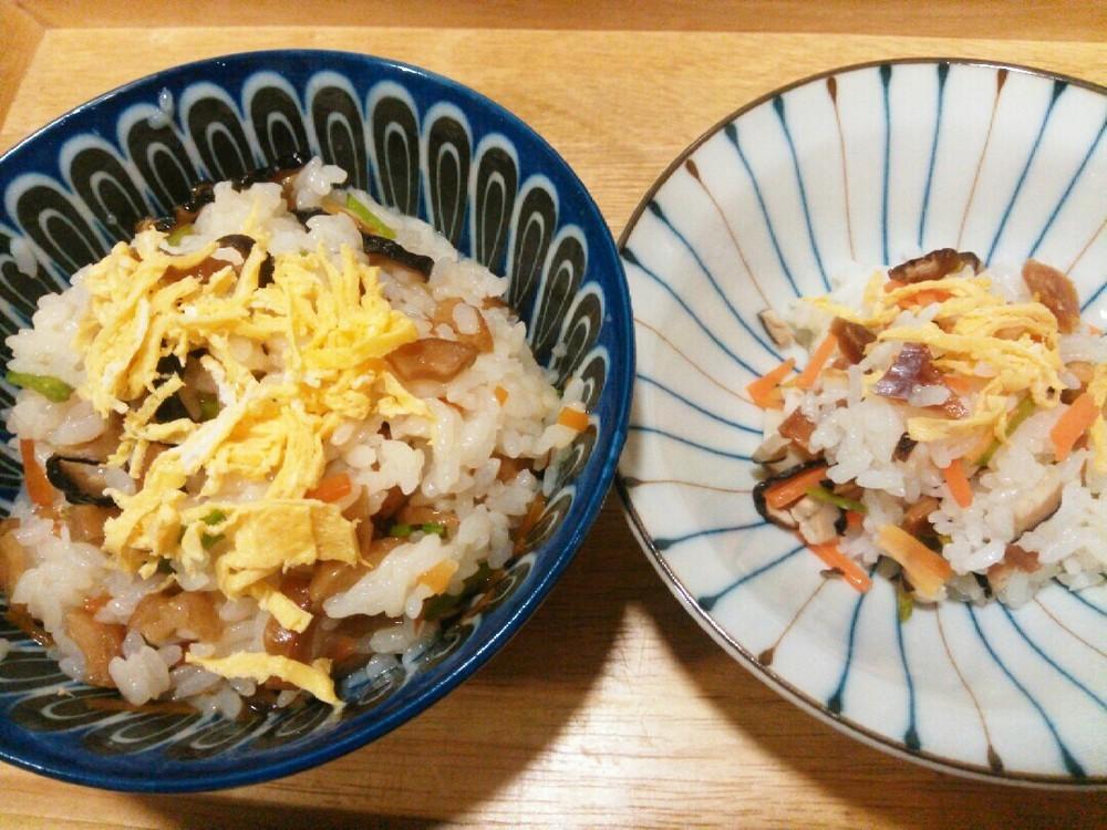 鮭ちらしの作り方2