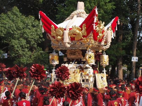 福崎町西田原「熊野神社の祭り 西光寺屋台の宮入