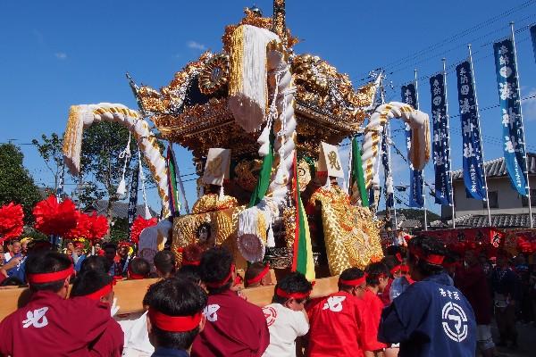 播州秋祭り 湊神社 児島屋台