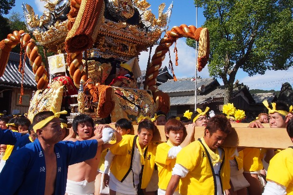 播州秋祭り 湊神社 地の屋台