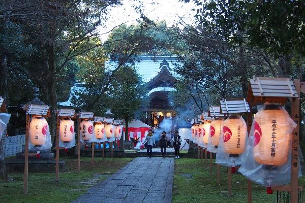 初詣 西条市石岡神社