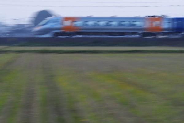 鉄道写真 予讃線 特急しおかぜ 上り