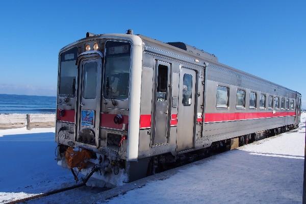 釧路駅からJR釧網本線 快速しれとこ普通列車