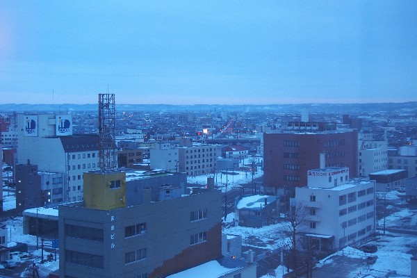 北海道釧路市 町並み
