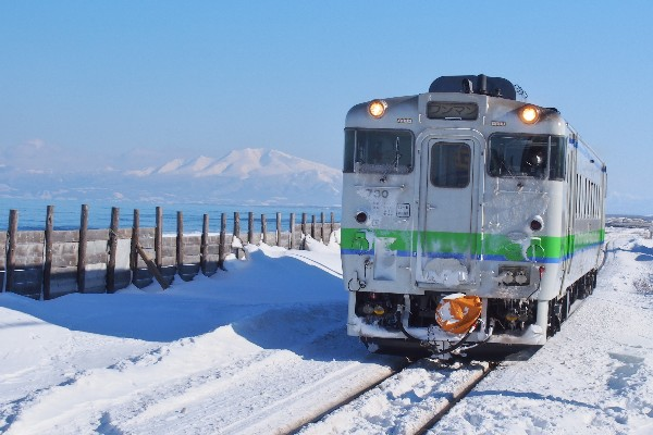 JR釧網本線 ワンマン 普通列車