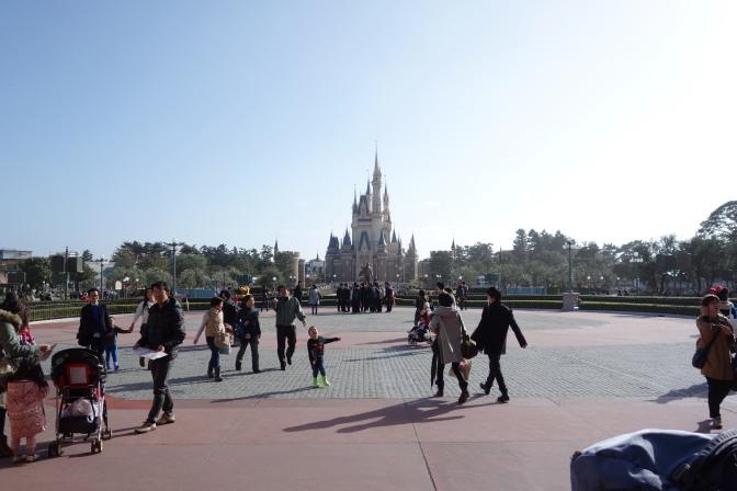 かの有名なシンデレラ城!