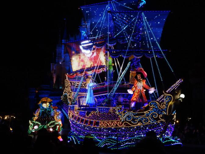 ピーターパンの海賊船?