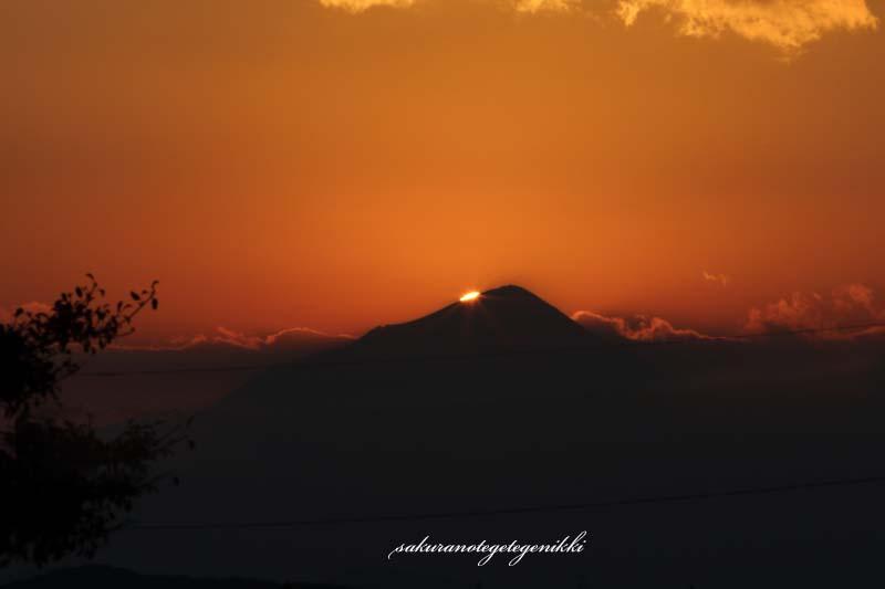 高千穂の峰夕日
