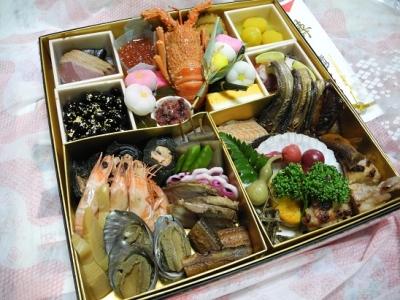 201212312012年おせち:初!ホテルのおせち料理