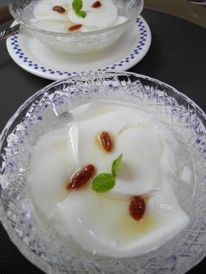 20160203デザート追加杏仁豆腐