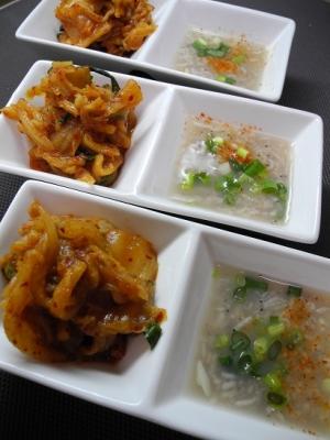 20160220ゆで豚の韓国タレと自家製キムチ