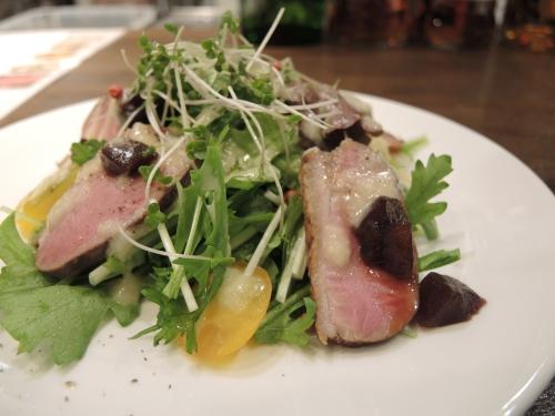 合鴨ロースト林檎のサラダ