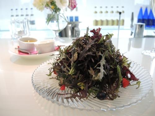 ユトゥルナ名物15種のハーブサラダ