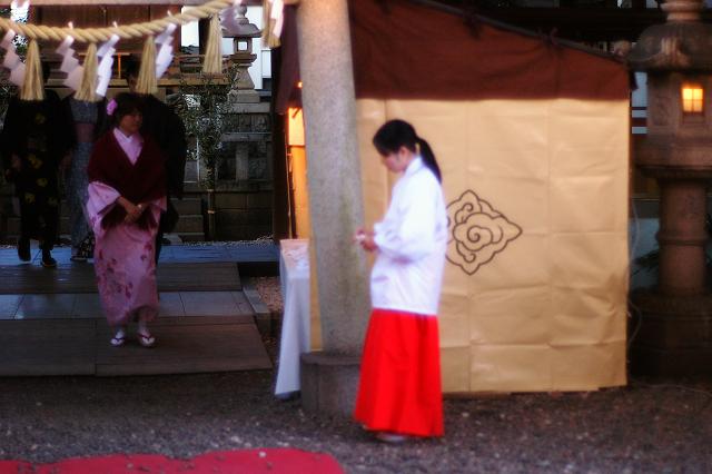 OM5512と川越氷川神社