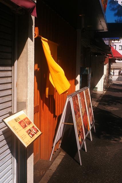 M-Rokkor2828と築地場外市場