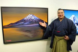 日馬富士絵画展