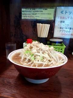 20150815ラーメン二郎品川店(その2)