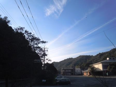 泉山の空1〈2015-12-29)