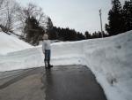 残雪1.5m
