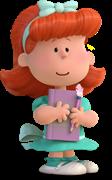 I LOVE スヌーピー THE PEANUTS MOVIE_赤毛の女の子