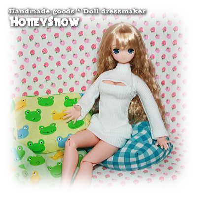【HoneySnow】 フィギュアをダメにするソファ~ 1/6ドール 1/12ドール