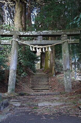 ②2016年2月帰省 籾山神社1