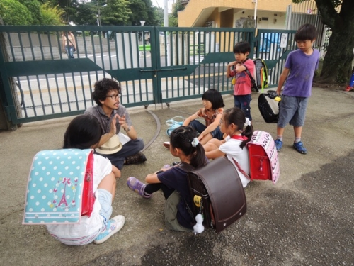 (1) 子どもたちと撮影した3ヶ月