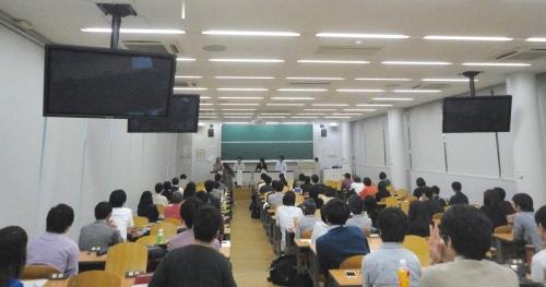 (10) 東京へ戻り東京大学で講演