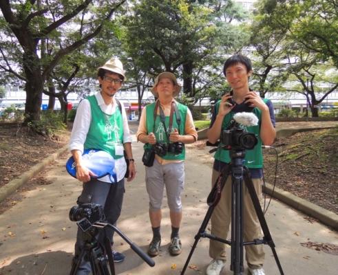 (13) グリーンバード新宿の撮影