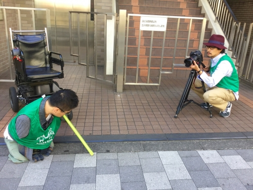 (17) 乙武さんと撮影