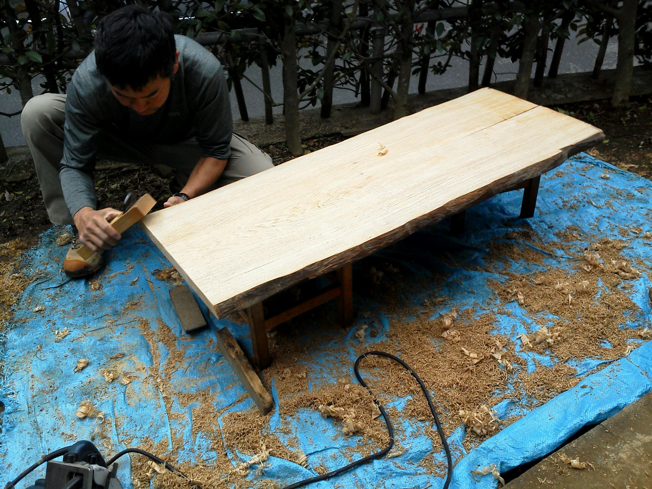 テーブル作る