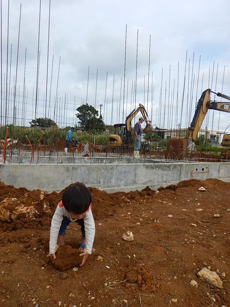 宮古島 上野 基礎 新築工事