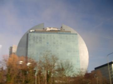 フランクフルトのビル。