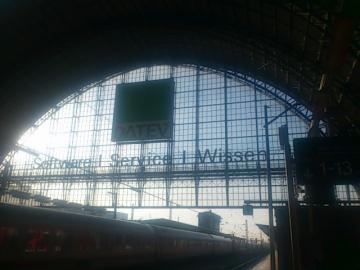 フランクフルト駅。