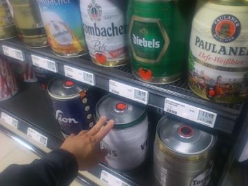 5リッター樽缶。