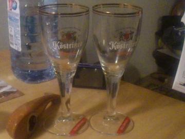 ケストリッツァーのグラス。