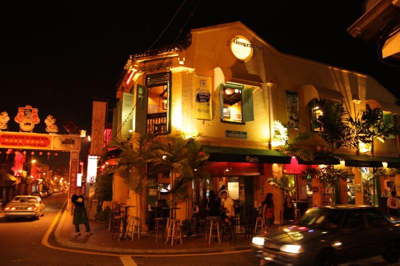 マラッカ 町並み Malacca street