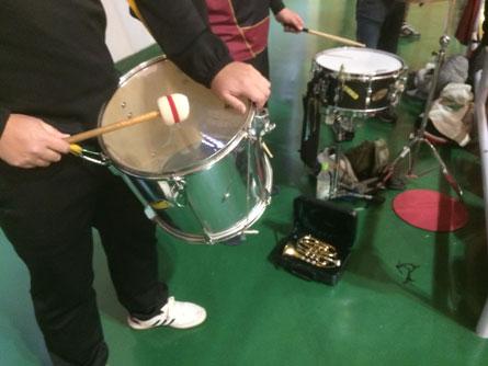 ドラムとラッパ_160124