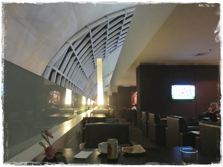バンコク国際空港ビジネスラウンジ