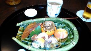 鷺風 八寸 茶碗蒸し