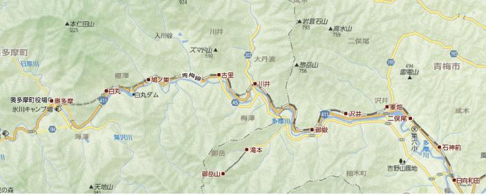 地図ロングハイク