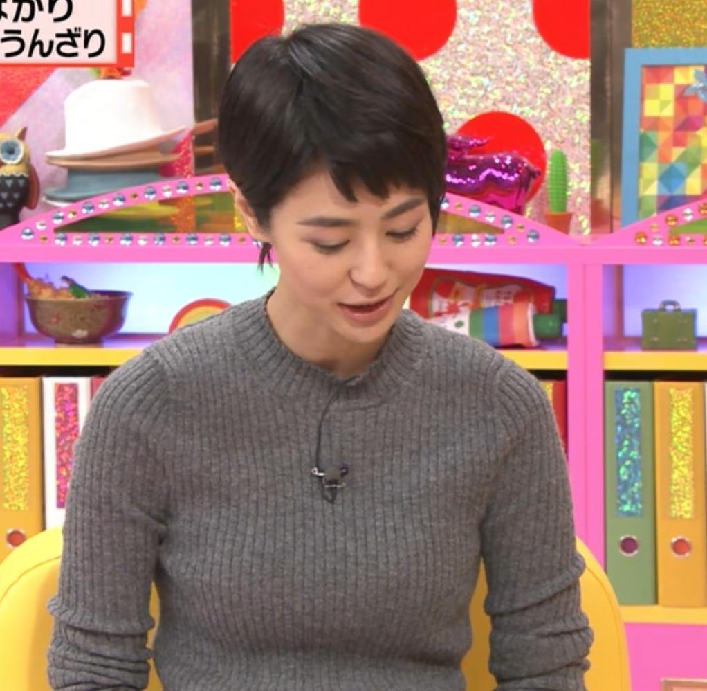 夏目三久 おっぱいキャプ・エロ画像7